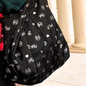 Victoria's Secret PINK Black & Silver Tote -NWT
